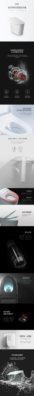 尿流率检测智能马桶详细图解
